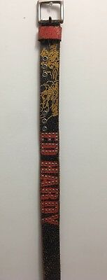 Hardy Tiger Leather (Don Ed Hardy Leather Tiger Belt STYLE EH0044)