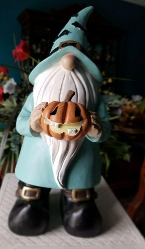 "🎃 16"" Gnome Holding Pumpkin Fall Halloween Decor"
