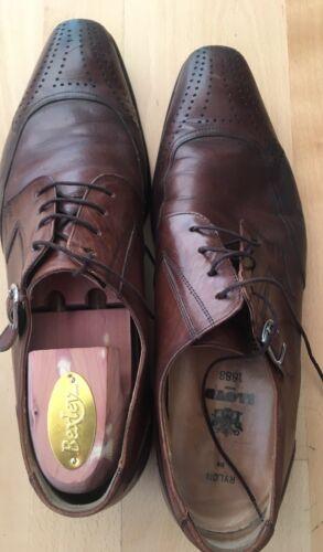 Loyd Baker Leder Herrenschuhe UK 9 EUR 43 Schuhe Elegant Braun