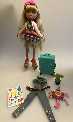 Bratz Doll Study Abroad Raya With Accessories Big Shoes ! Mexico
