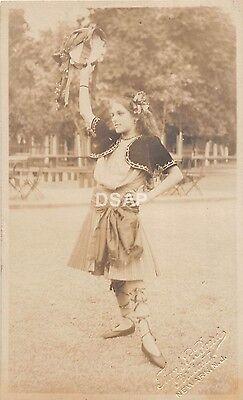 C13/ Newark New Jersey Postcard Real Photo RPPC Parade Ethnic Costume - Costumes Nj