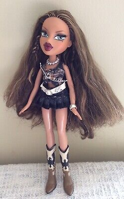 """Bratz 10"""" Wild Wild West Yasmin Doll Original Outfit Cowboy Boots & Accessories"""