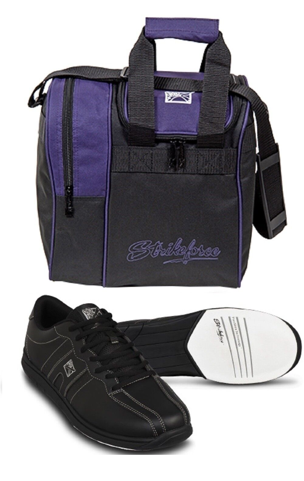 Mens KR Strikeforce Bowling Shoes Color Black Sizes 6-11 & P