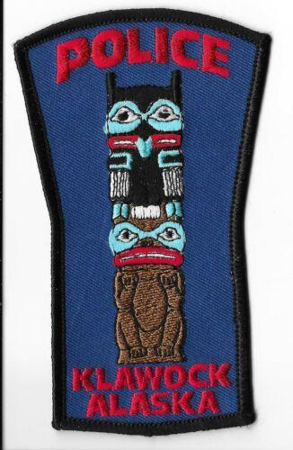 Klawock Police Department, Alaska Shoulder Patch
