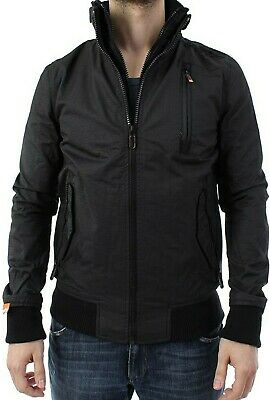 Superdry Windcheater Moody Ripstop Bomber Lite Black L Large $200 MS5IR230