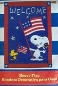 Snoopy 4th of July Flag