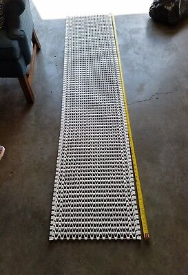 Spantech Conveyer Chain 8 2.5 L X 18 W White Plastic Wstainless Steel Rod