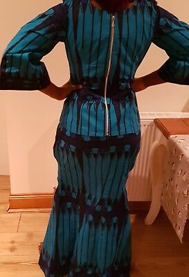 Women Fashion African Wax Print Outfit