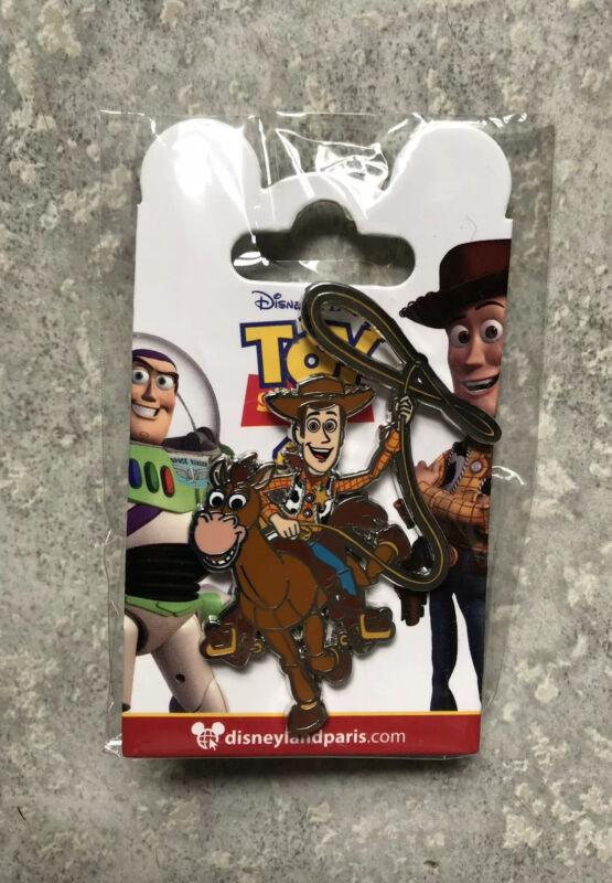 Disney DLP DLRP Disneyland Paris Toy Story 4 Woody And Bullseye Pin