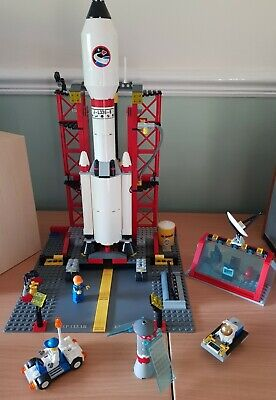 Vintage Lego City 3368 Space Rocket Set (Complete)