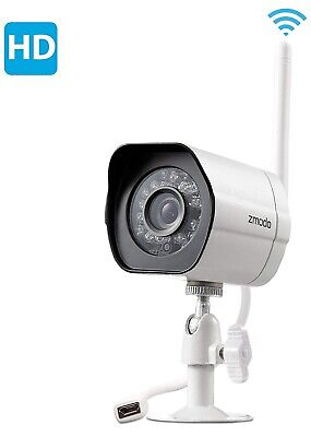 Color Night Vision Security Camera - Zmodo 1080p Outdoor Wireless Smart HD Security Camera Weatherproof Night Vision