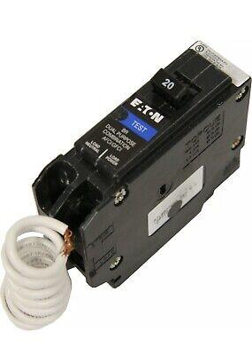 Cutler Hammer Eaton Brn120df Same As Brafgf120 20a Dual Function Afcigfci New