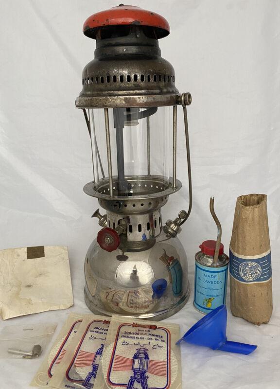 Optimus 300P Lantern Lamp. Radius Primus. Old 1940s Rare model!