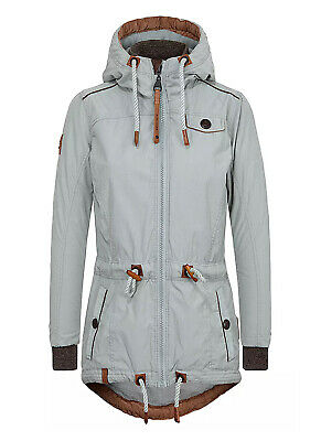 Naketano Damen Jacke Übergangsjacke blau Schlaubär 1230