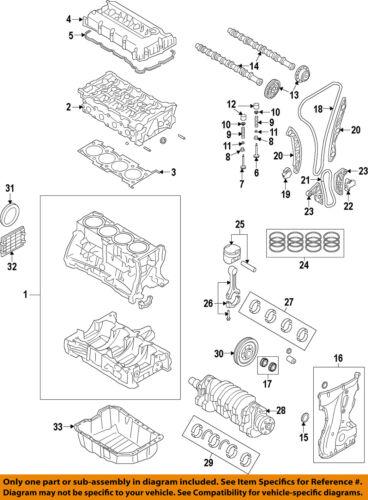 HYUNDAI OEM 11-17 Sonata-Engine Timing Chain 243212G111 | eBayeBay