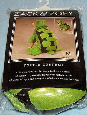 Zack & Zoey Hund Schildkröte Kostüm Größe M Halloween - Schildkröte Hunde Kostüm