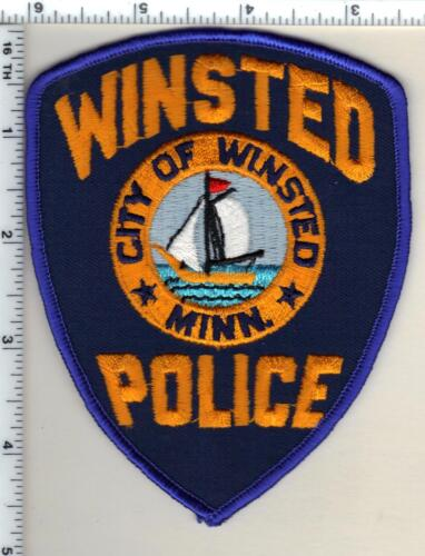 Winsted Police (Minnesota)  Shoulder Patch new 1991