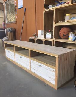 Rustic TV Cabinet New