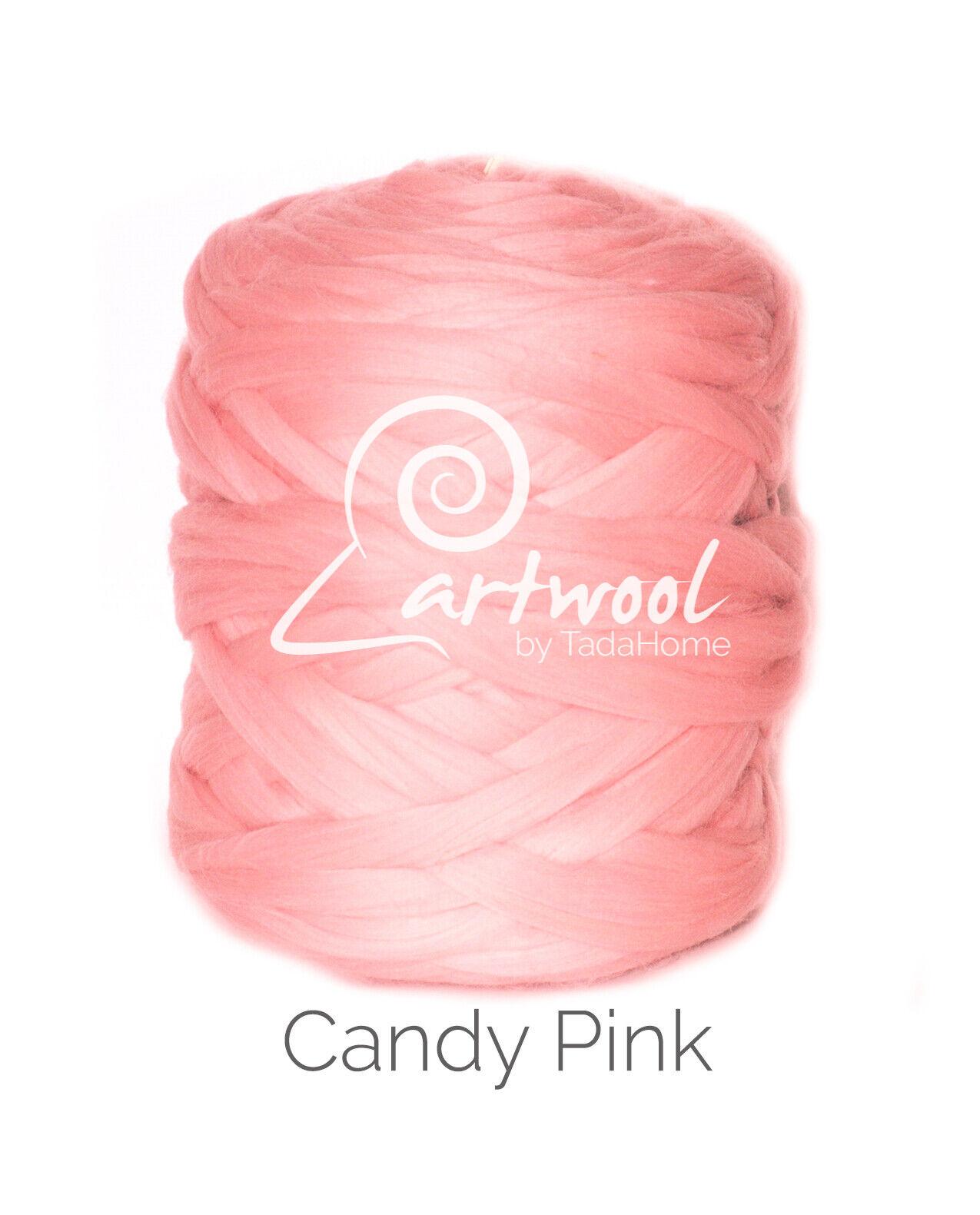 1kg Silver Pure Merino Wool Super Chunky Bulky Arm Knitting Yarn 19.5 micron