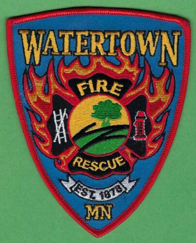 WATERETOWN MINNESOTA FIRE DEPARTMENT PATCH