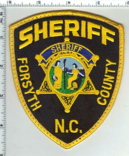 Forsyth County Sheriff (North Carolina) 4th Issue Uniform Take-Off Patch