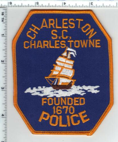 Charleston Police (South Carolina) Uniform Take-Off Shoulder Patch from 1992