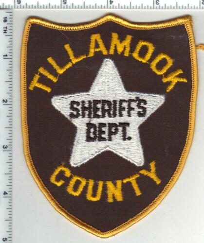Tillamook County Sheriff (Oregon) 2nd Issue Shoulder Patch