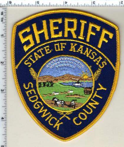 Sedgwick County Sheriff (Kansas) Shoulder Patch - new from 1987