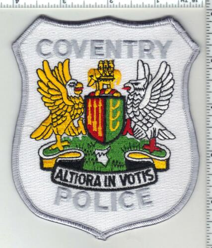 Coventry Police (Connecticut) 2nd Issue Shoulder Patch