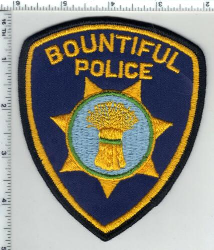 Bountiful Police (Utah) 2nd Issue Shoulder Patch