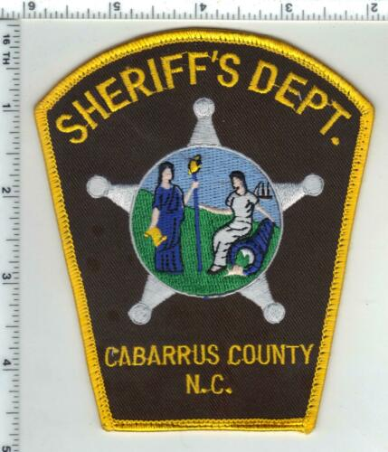 Cabarrus County Sheriff (North Carolina) 3rd Issue Uniform Take-Off Patch