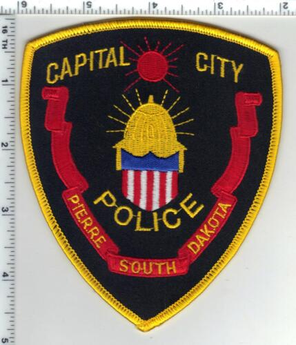 Pierre Police (South Dakota) Capital City larger Shoulder Patch from 1980