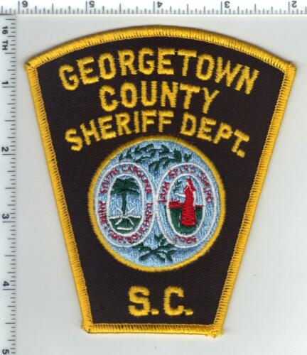 Georgetown County Sheriff Dept. (South Carolina) Shoulder Patch from the 1980