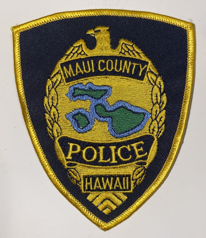 HAWAII MAUI COUNTY POLICE DEPARTMENT PATCH