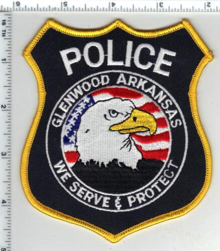 Glenwood Police (Arkansas) Shoulder Patch - new from the 1980