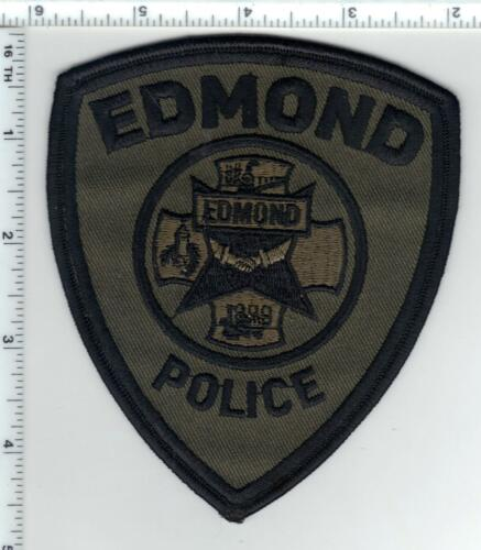 Edmond Police (Oklahoma) Camo Shoulder Patch - new from the 1980