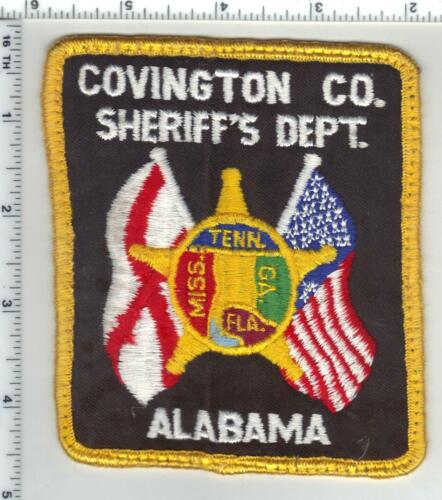 Covington County Sheriff (Alabama) 3rd Issue Uniform Take-Off Shoulder Patch