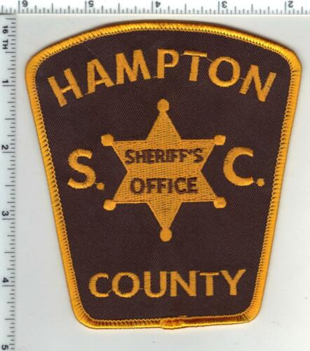 Hampton County Sheriff (South Carolina) 2nd Issue Shoulder Patch