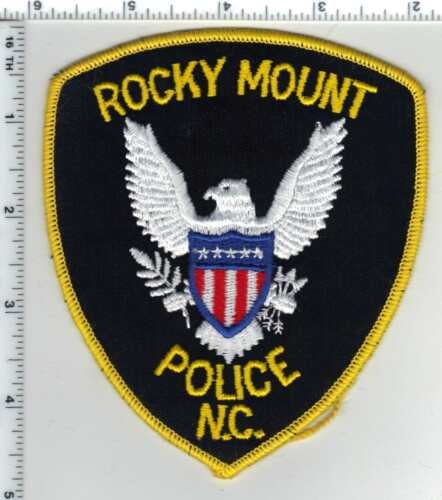 Rocky Mount Police (North Carolina) 2nd Issue Shoulder Patch