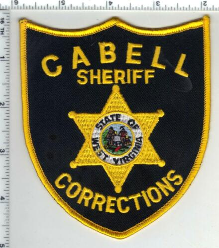 Cabell Sheriff Corrections (West Virginia) 4th Issue Shoulder Patch