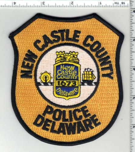 New Castle County Police (Delaware) 8th Issue Shoulder Patch