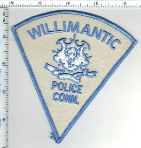 Willimantic Police (Connecticut) 2nd Issue Shoulder Patch