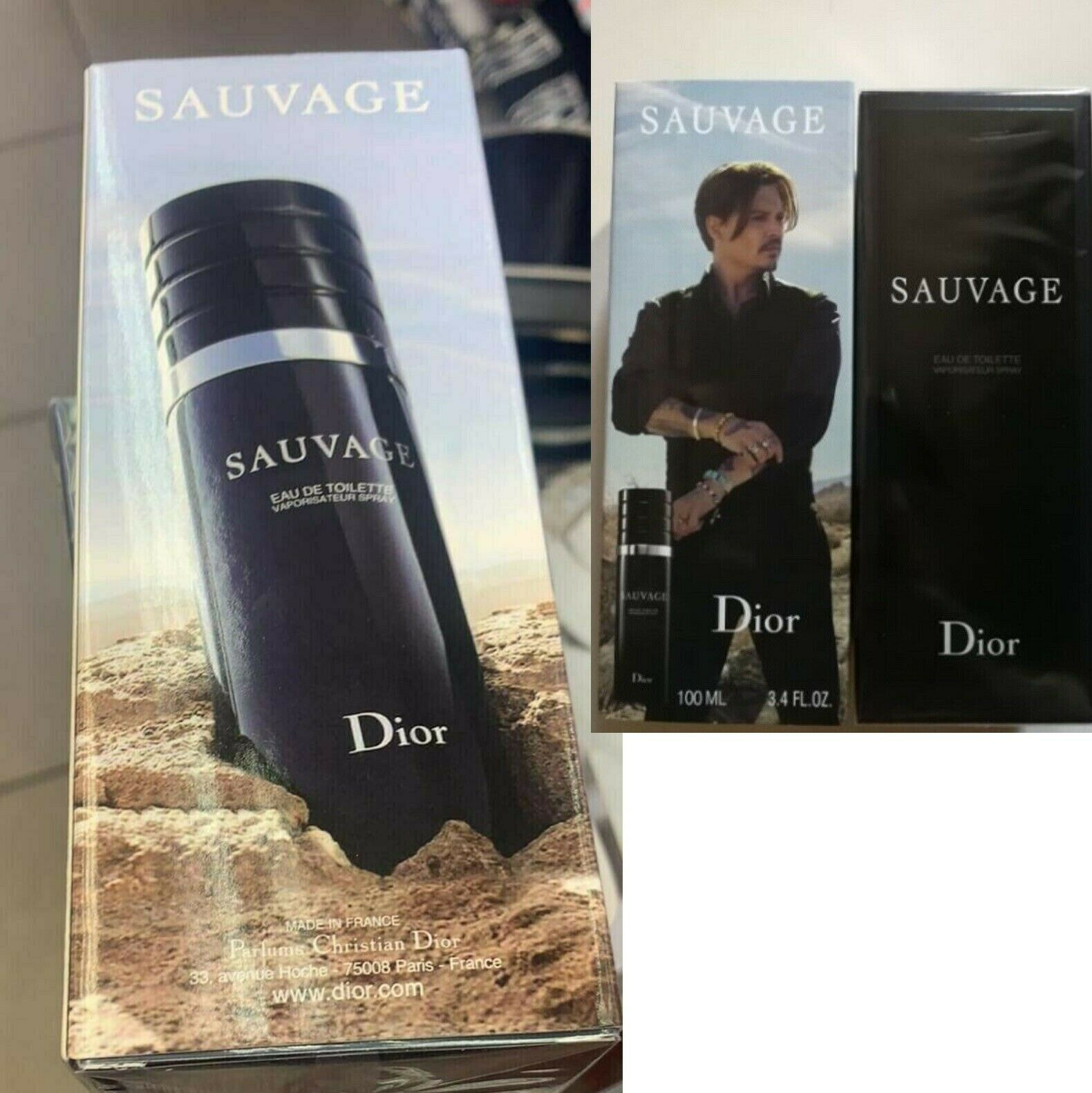 NEW tall version Christian Dior Sauvage Savage CD Mens EDT S