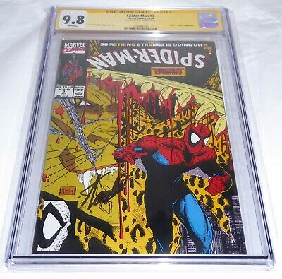 Spider-Man #3 CGC SS Signature Autograph STAN LEE Lizard Calypso Appearance Book