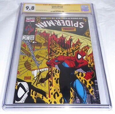 Spider-Man #3 CGC SS Signature Autograph STAN LEE Lizard Calypso Appearance Book