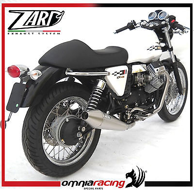 Zard Polished Steel Street - Moto Guzzi V7 Cafe Racer / Classic 2009> Exhausts