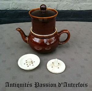 b20130204 rare petite cafeti re 1900 villeroy et boch avec filtre ebay. Black Bedroom Furniture Sets. Home Design Ideas