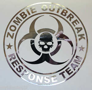 Zombie Outbreak Response Team Vinyl Decal -4