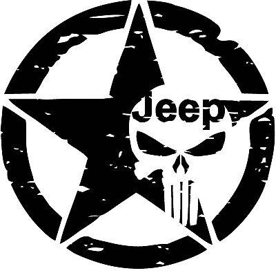 BK1 Punisher Skull Black FULL ENAMEL COATED Metal Emblem Decal Sticker logo USA