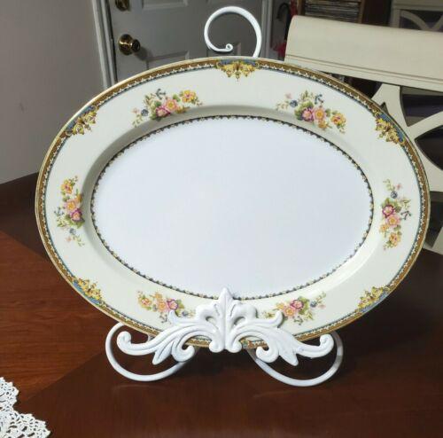 """Noritake PASADENA Serving Platter 14"""" Oval 1930"""